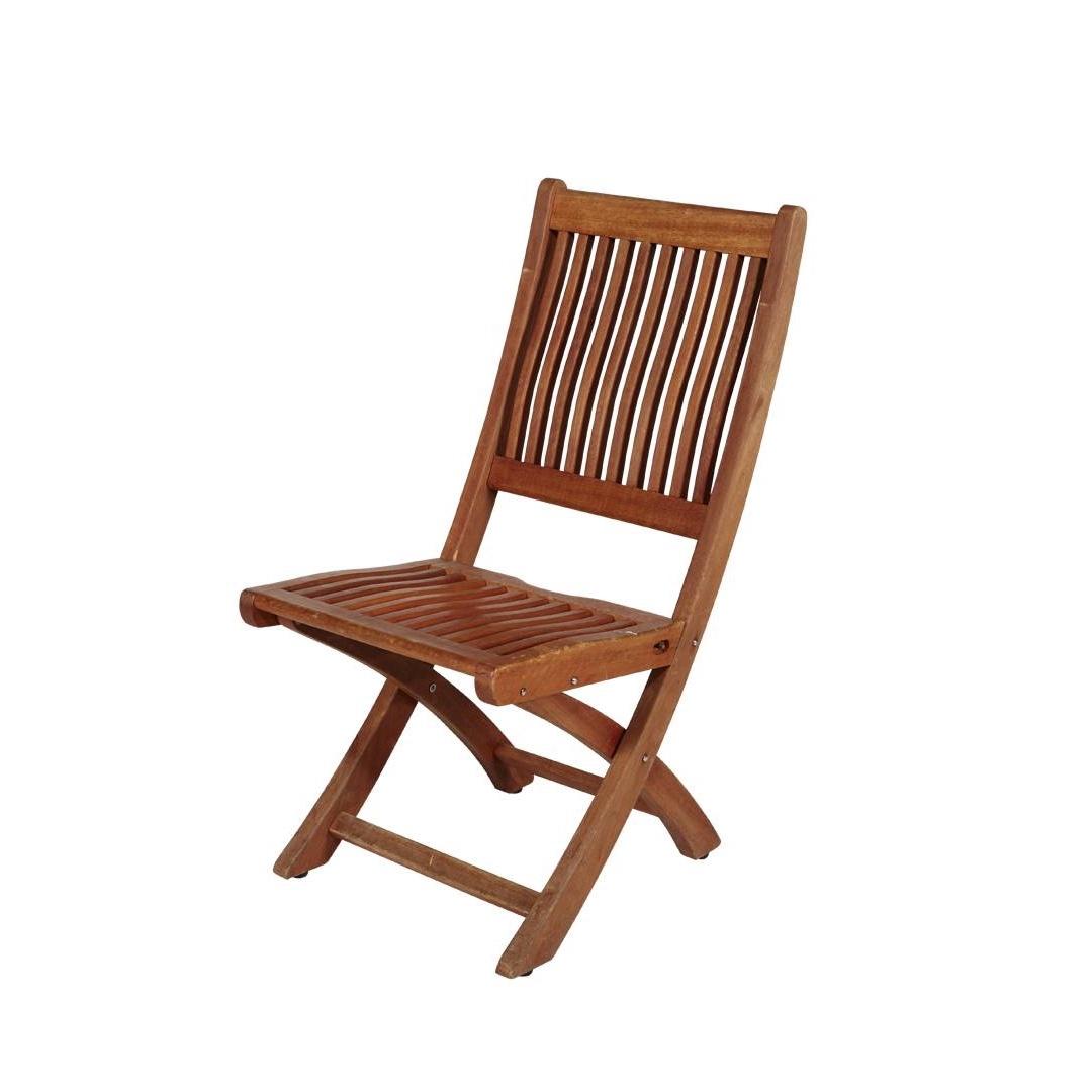 Location chaise pliante en teck Louisiane